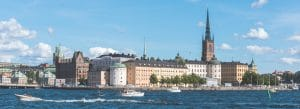 Riddarholmen at summer