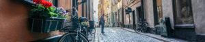 Stockholm street of Gamla Stan