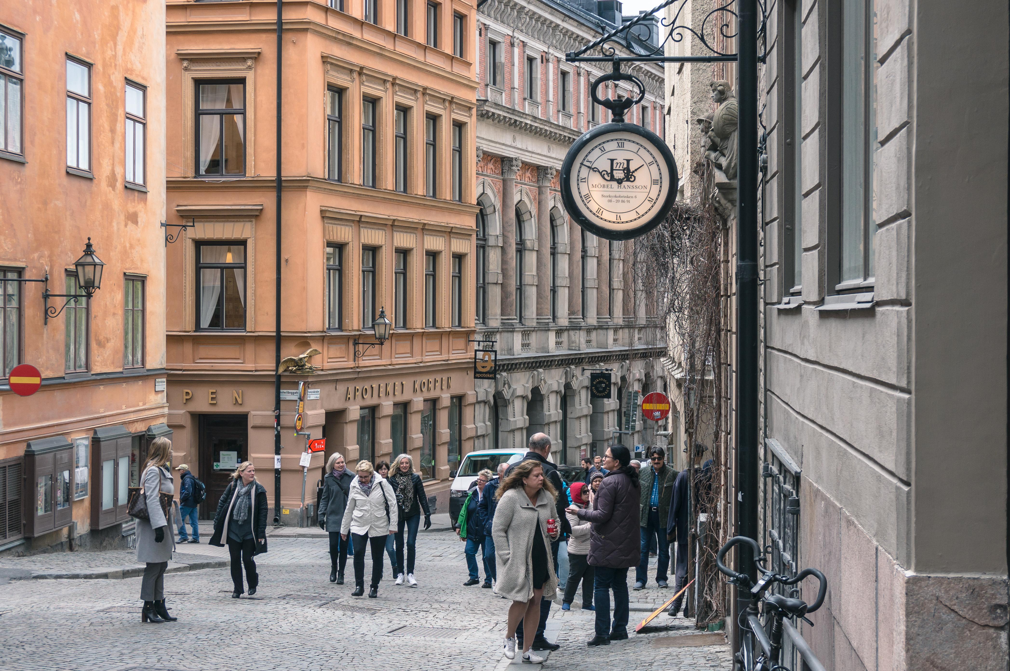 Городские легенды Стокгольма и не только
