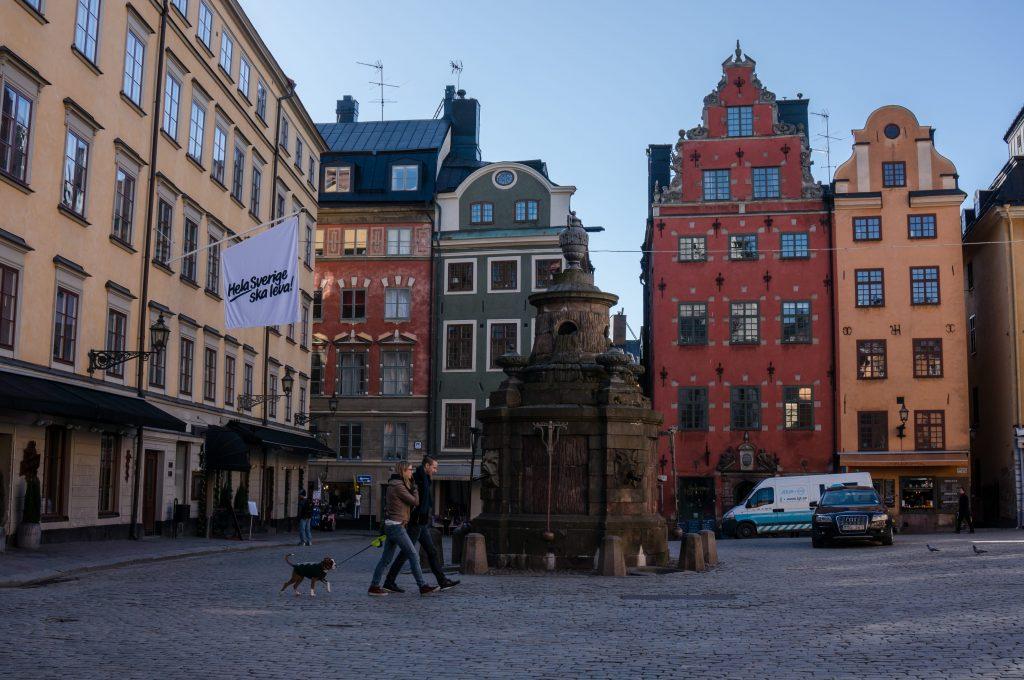 Stor torget gamla stan Sweden