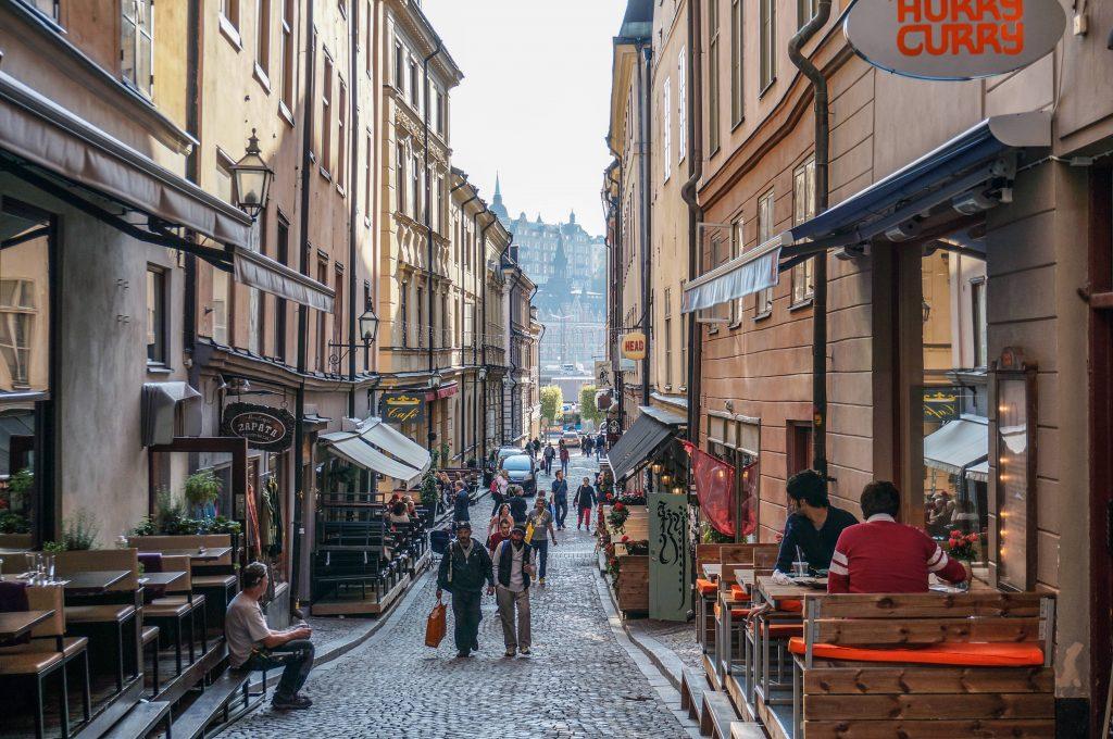 Gamla Stan Tyska brinken Stockholm
