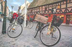 bicycles in Malmo Sweden