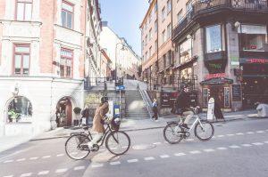 cyklister på söder