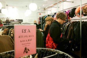Emmaus vintage store Stockholm