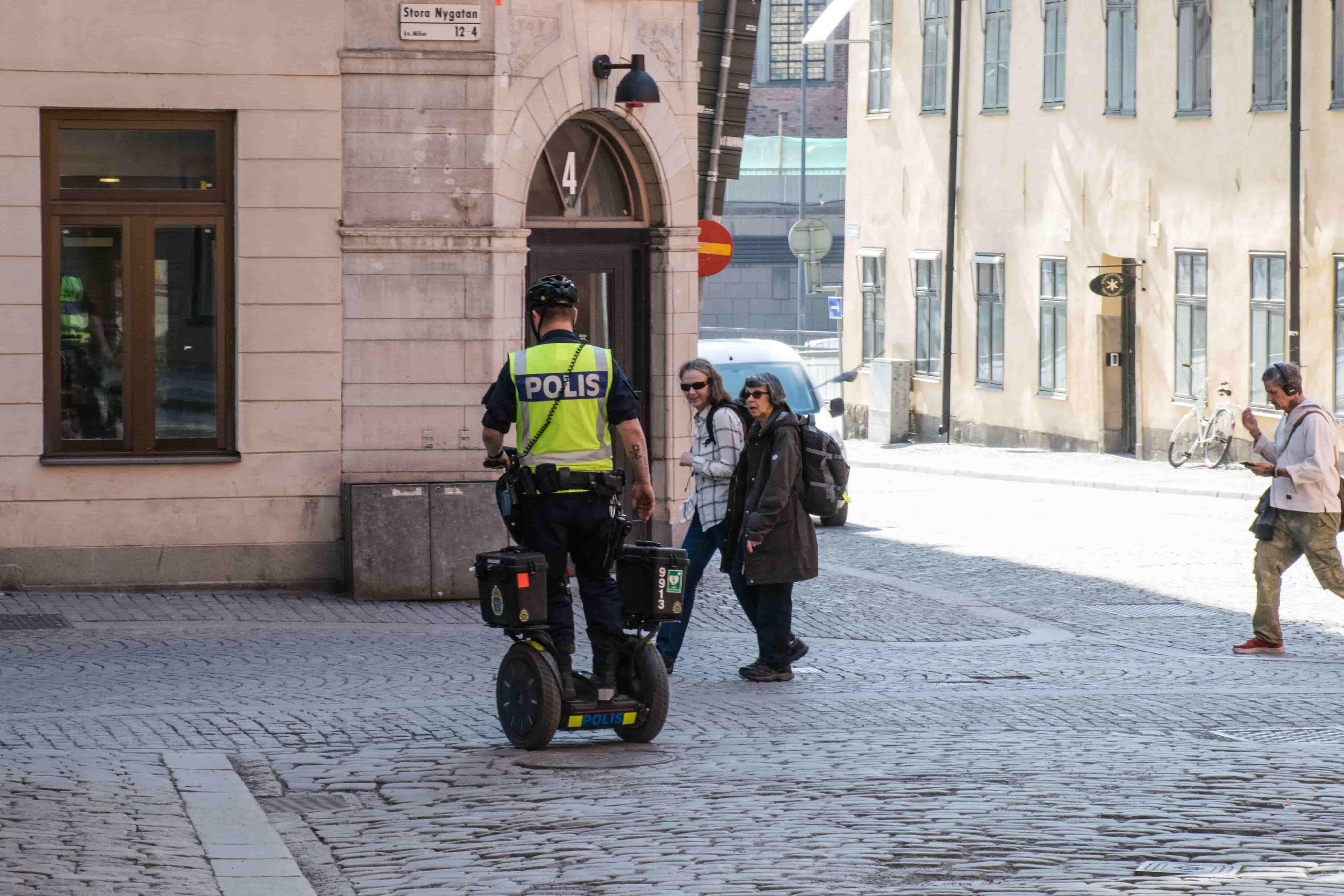segway police Stockholm