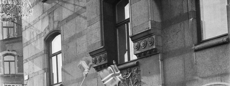 Празднование дня победы в Стокгольме 7 мая 1945
