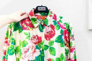 vintage store blouse