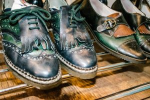 vintage store shoes