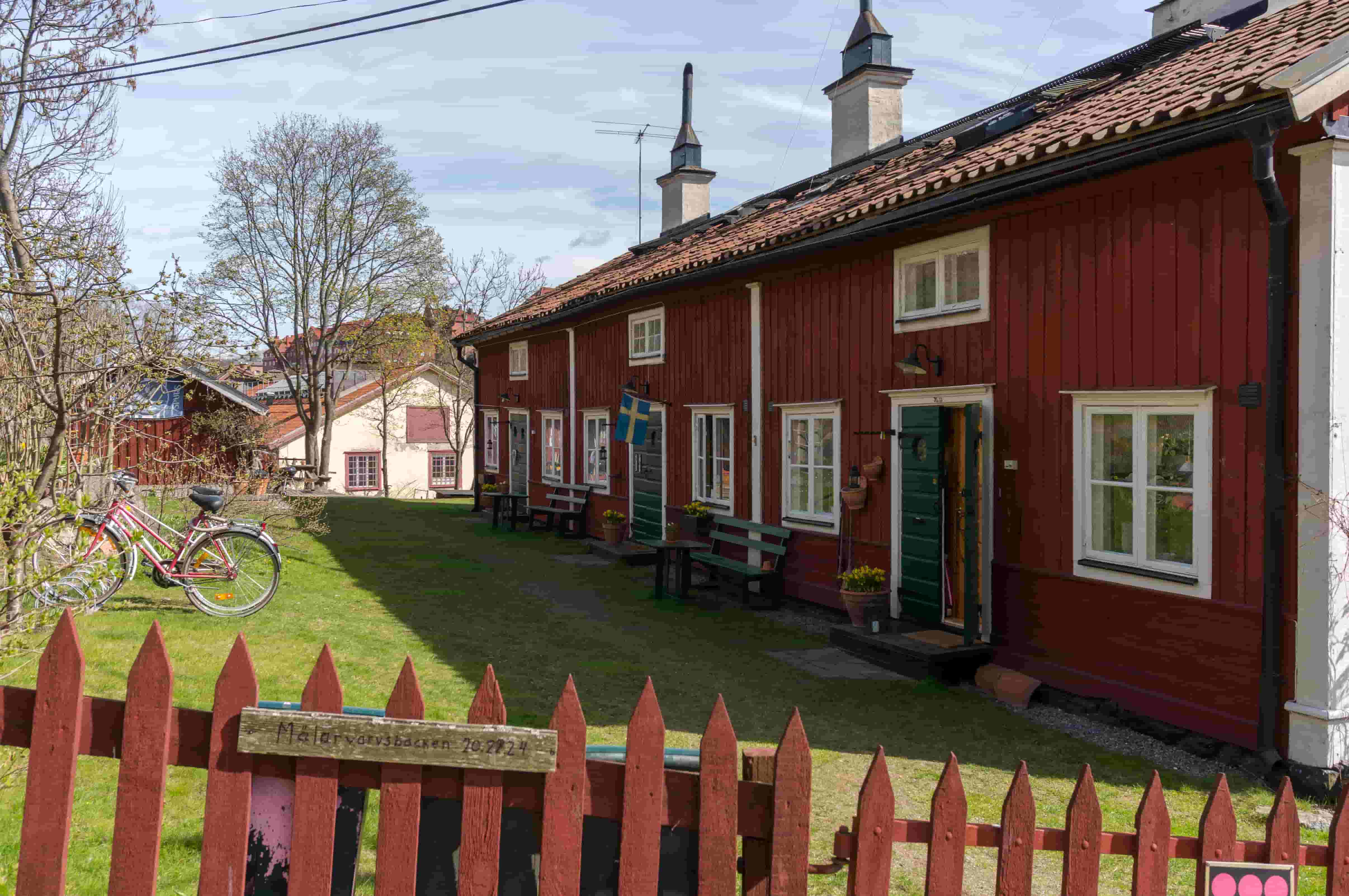 Husen på Långholmen