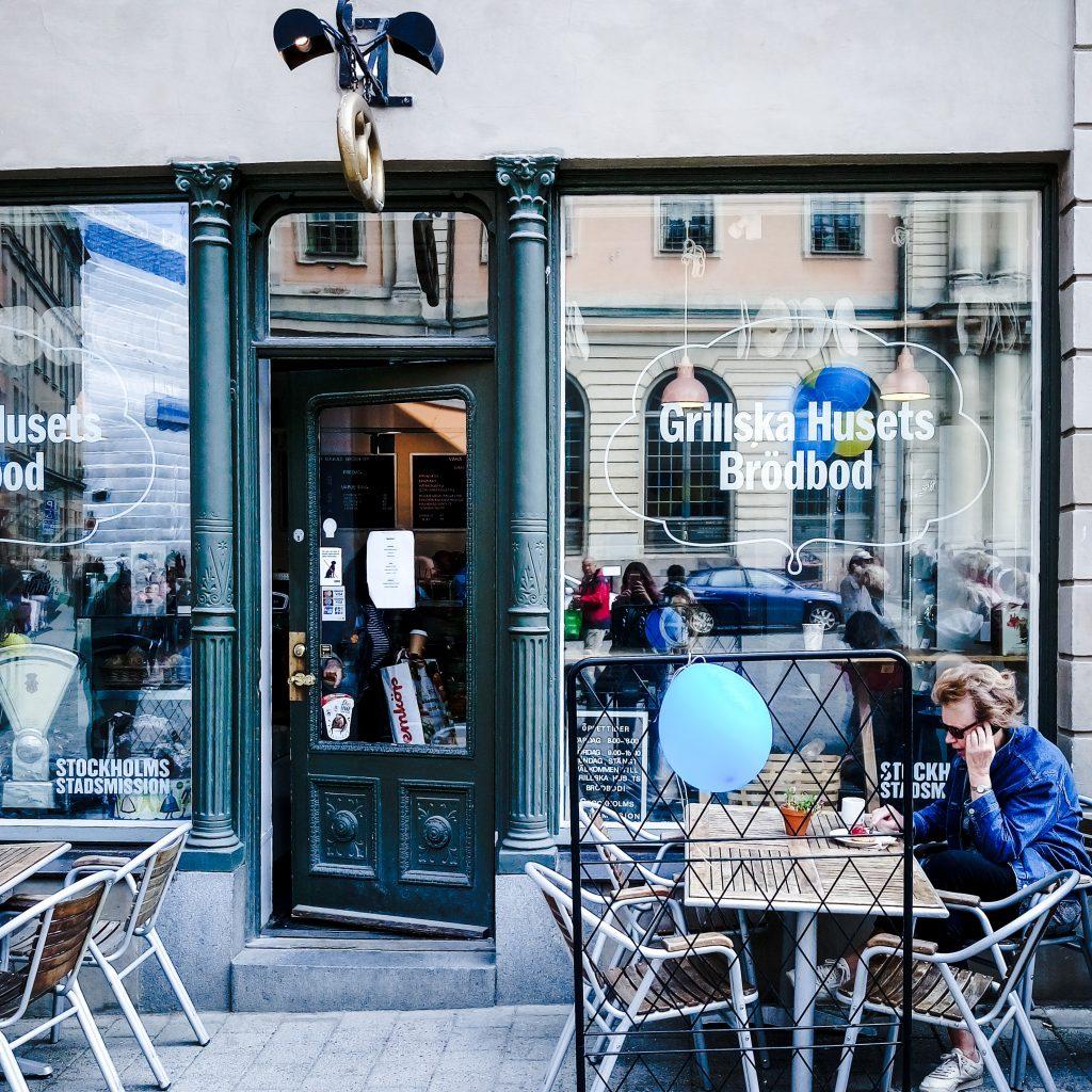 Grillska husets bageriet Stockholm