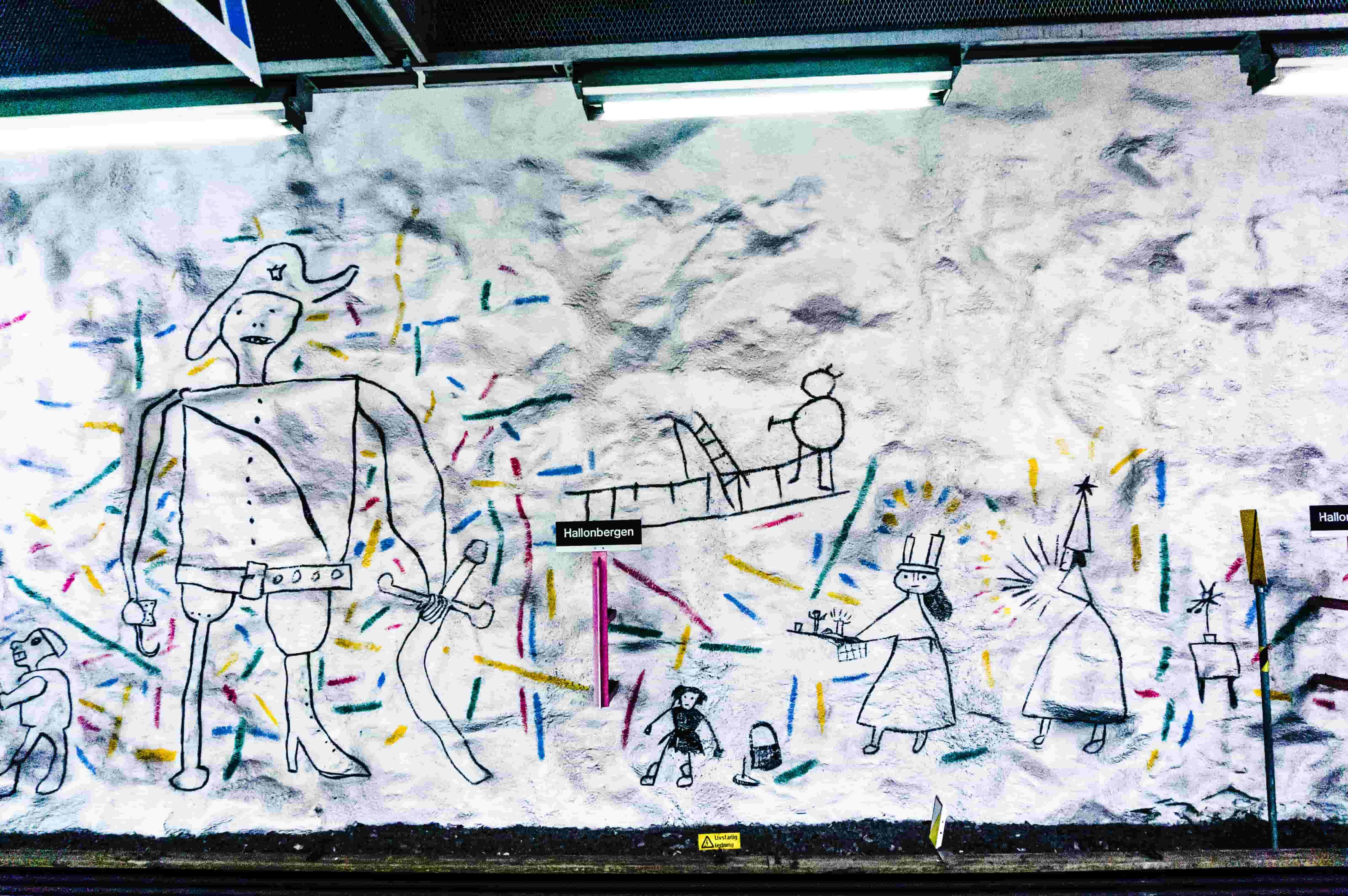 tunnelbanan-hallonberget stockholm