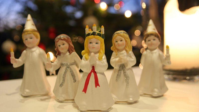 День святой Люсии в Швеции