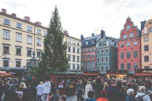 Christmas market Stockholm