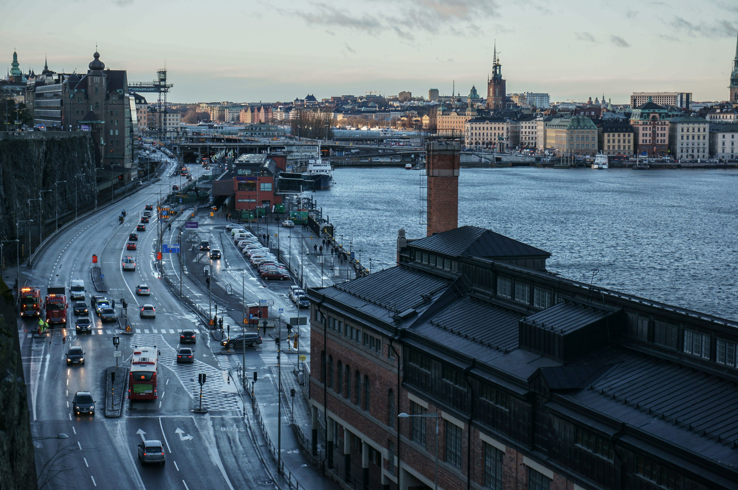 Stockholm Katarinavägen