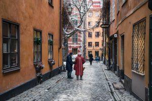 brända tomten, Gamla Stan, Stockholm, Sweden