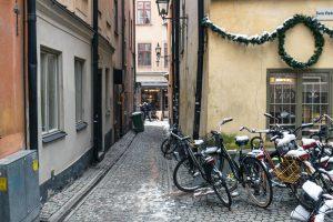 Cykelparkering, Gamla Stan, Stockholm
