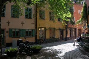 Brända tomten Stockholm