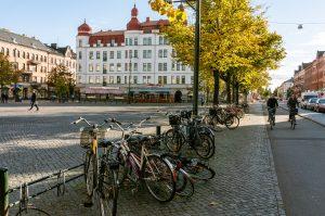 cycling in Malmö