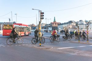 Stockholm cycling