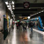 Stockholm metro Sweden