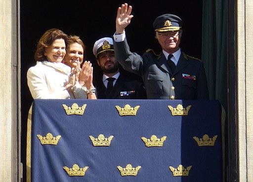 Как шведский король празднует день рождения