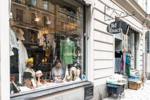 vintage store old touch Stockholm