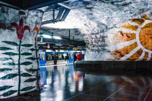 tunnelbanan tensta stockholm