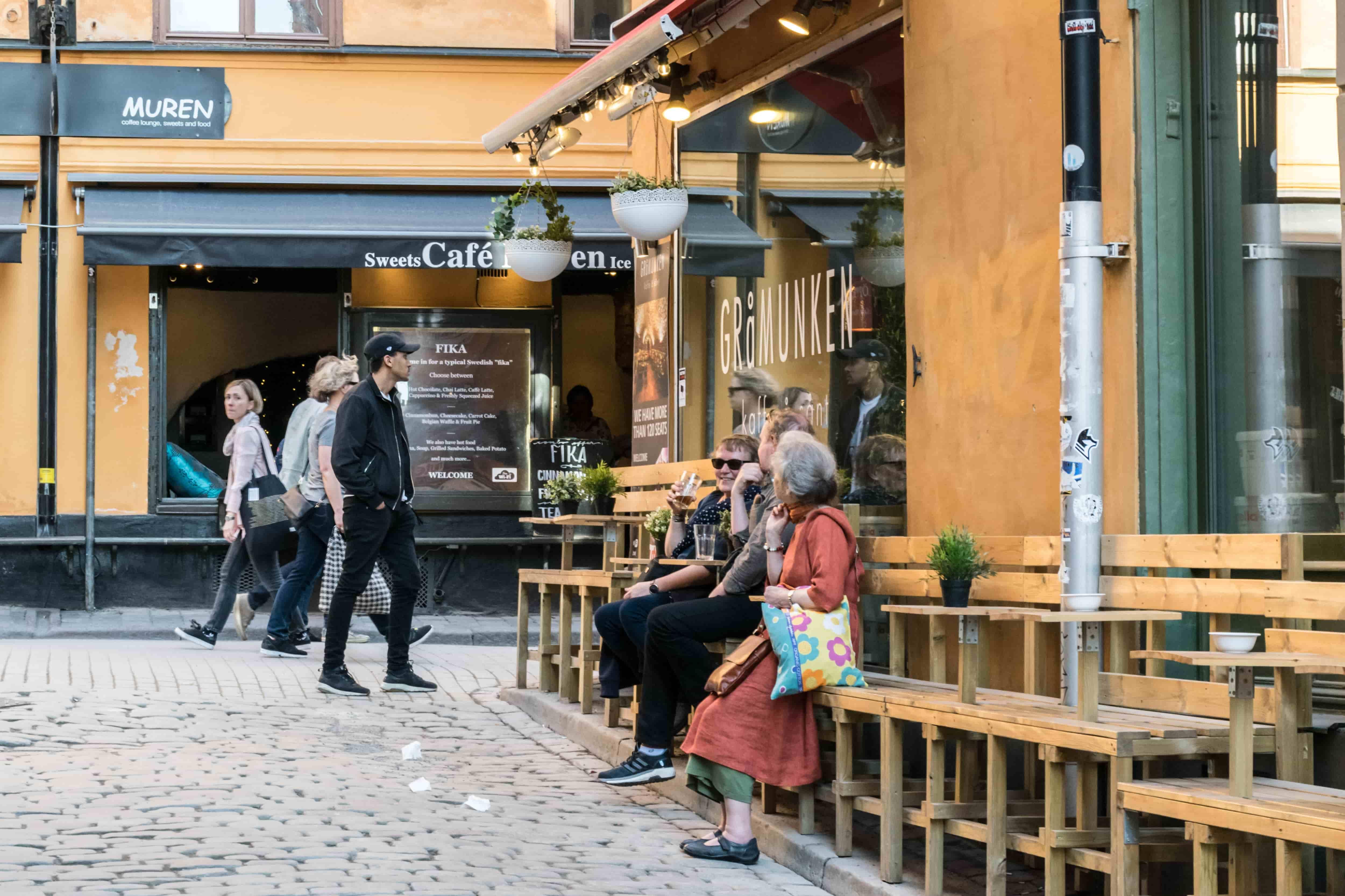 Пенсионеры Швеции