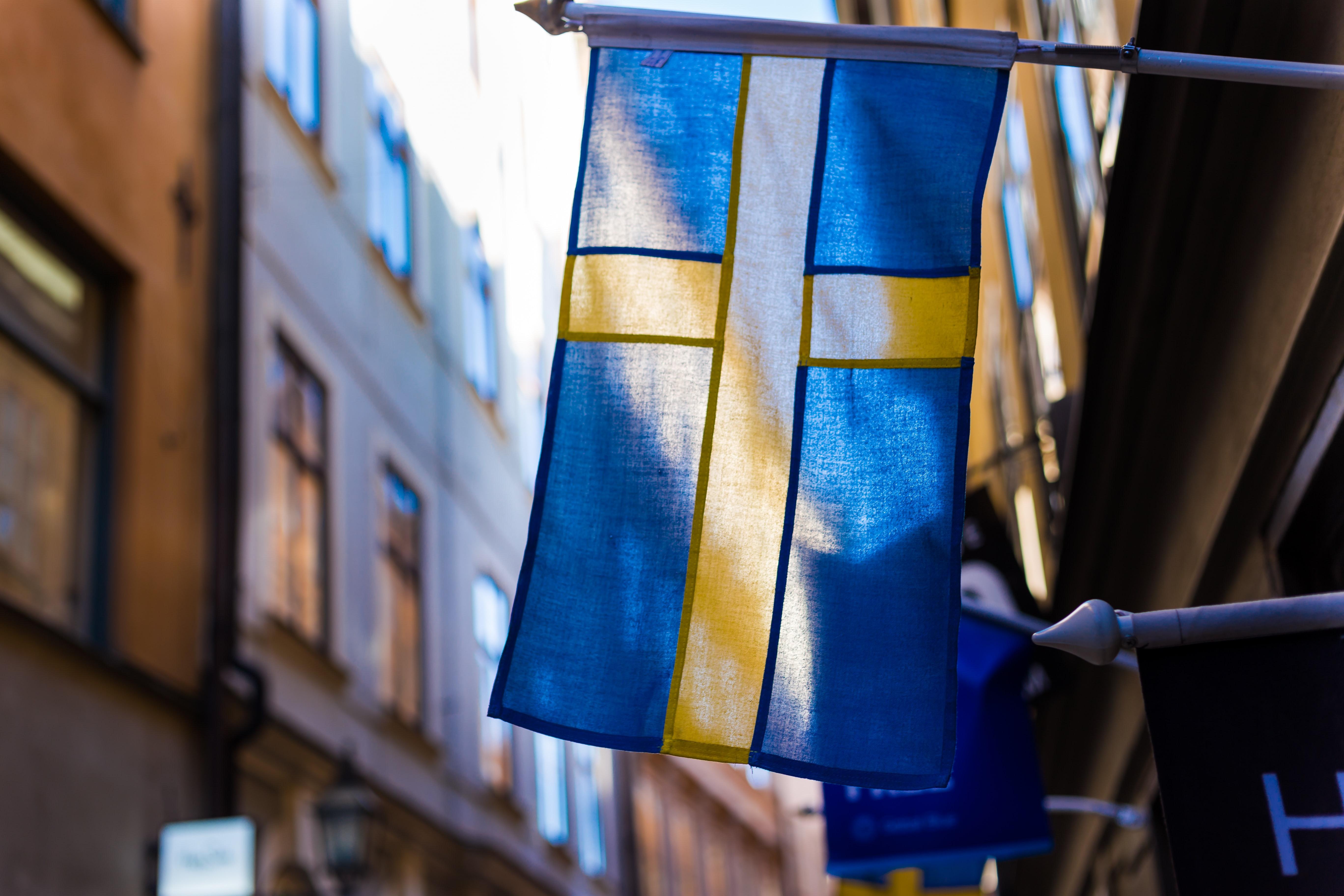 Шведские символы. Tre kronor и шведский флаг