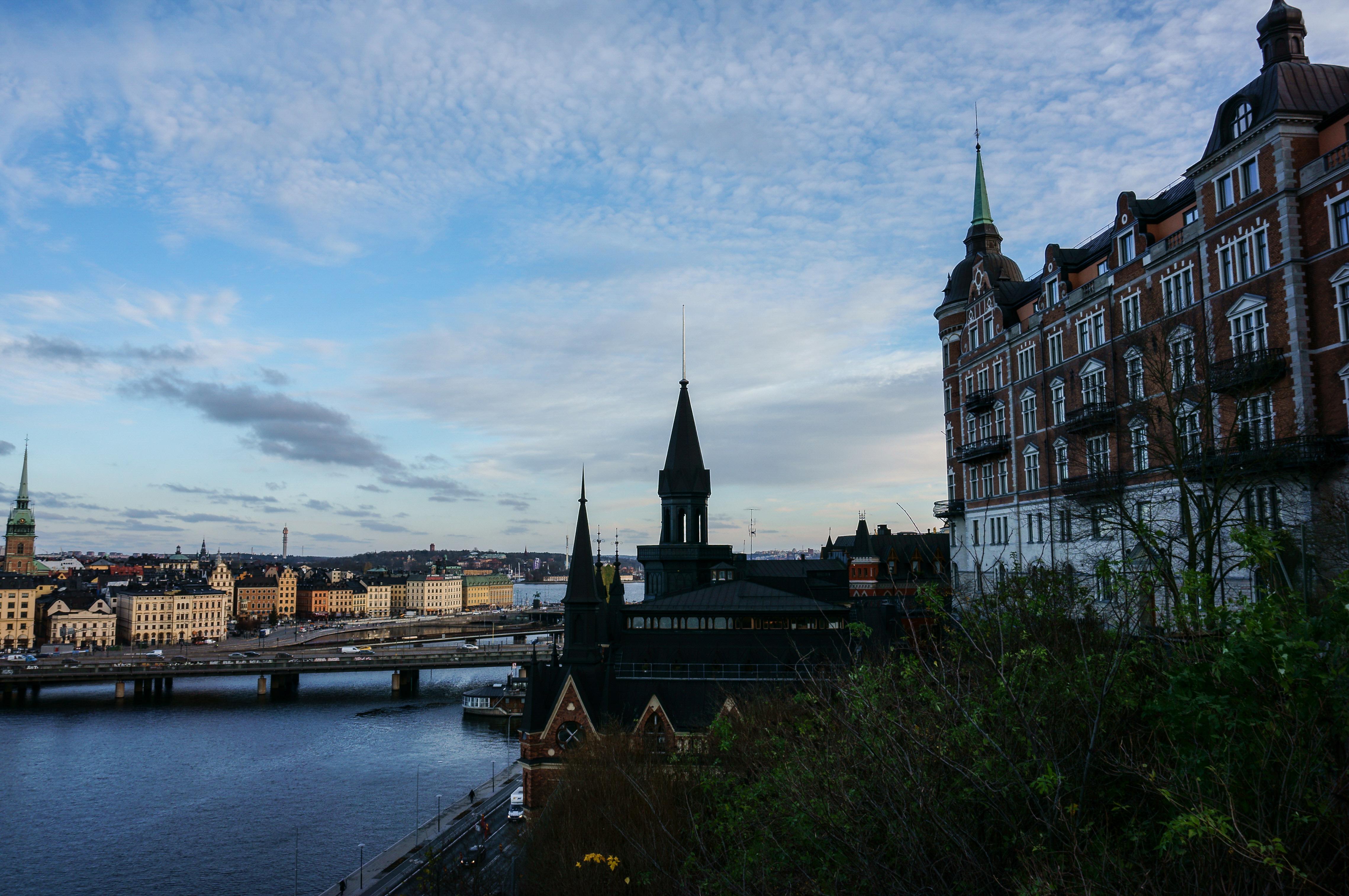 Самая крутая обзорная площадка в Стокгольме